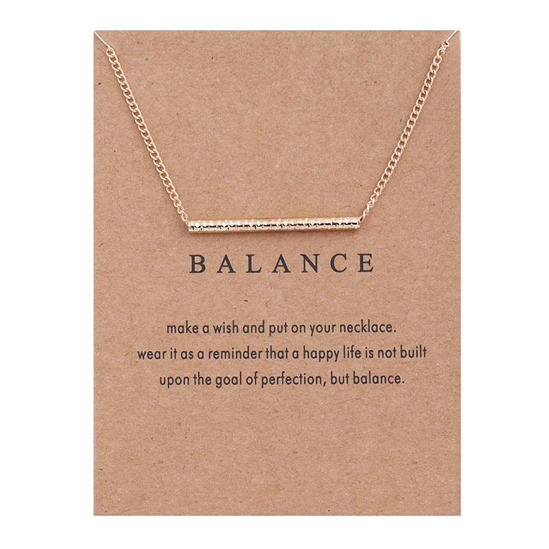 Balance Necklace - xcluslay