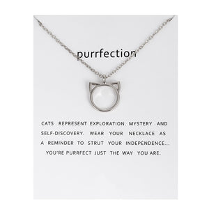Purrfection Necklace - xcluslay