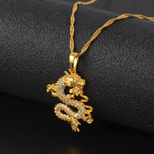 Load image into Gallery viewer, Dragon Necklace - xcluslay