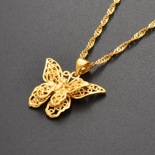 Load image into Gallery viewer, Butterfly Pendant Necklaces - xcluslay