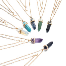 Load image into Gallery viewer, Xcluslay Luna Crystal Necklace - xcluslay