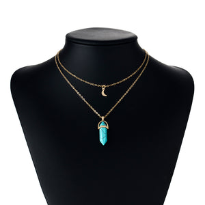Luna Crystal Necklace - xcluslay