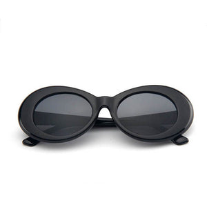 Retro Oval Shades - xcluslay