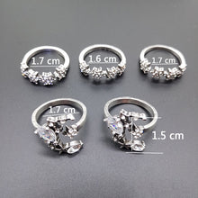 Load image into Gallery viewer, 5 Pcs Galaxy ring set - xcluslay