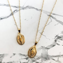 Load image into Gallery viewer, Virgin Mary Pendant Necklace - xcluslay