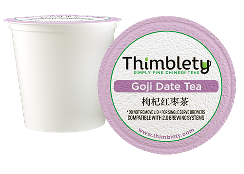 Chinese Goji Date Tea 12 Pack - 12 Tea Pods