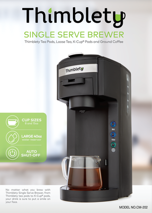SINGLE SERVE BREWER