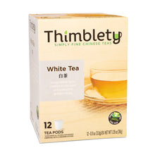 Load image into Gallery viewer, White Tea - 12 Tea Pod Pack, brew 2  cups per pod
