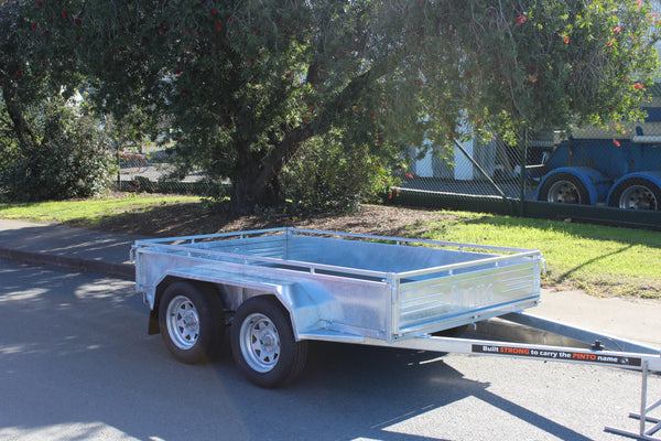 Unbraked Tandem Trailers