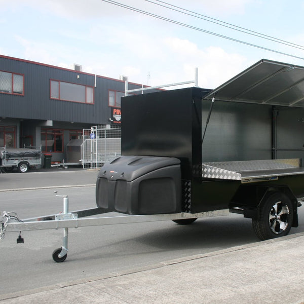 Toolbox on Enclosed Trailer