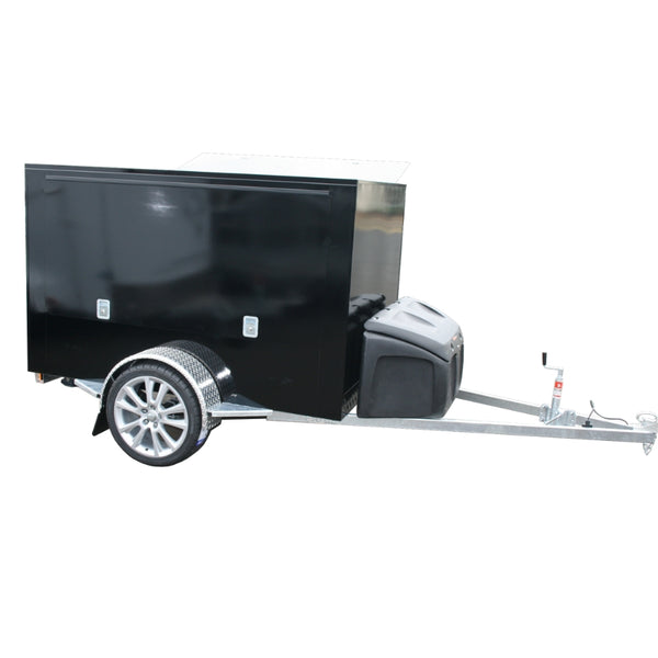 BBQ Trailer with Toolbox
