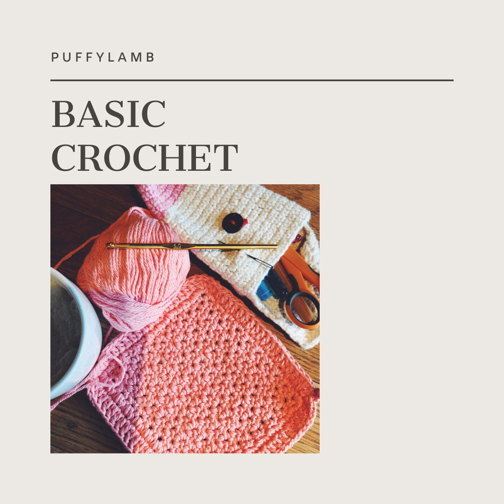 Learn Basic Crochet with us.