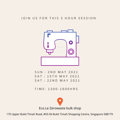 Sew workshop at Eco.Le