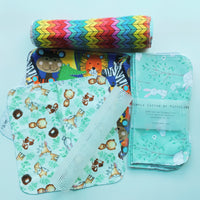 6pc/set : Cloth Napkins / reusable kitchen towels (Forest Fox)