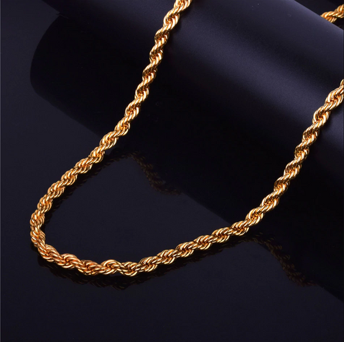 Rope Chain 3-9mm