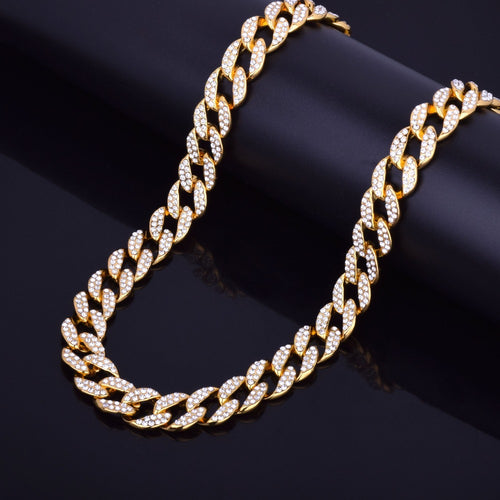 15mm Miami Cuban Choker Chain - Craneur Jewelry