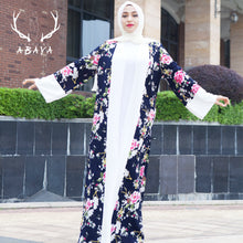 Load image into Gallery viewer, New Muslim Dress Dubai Abaya Modest Musli Style Dubai Fancy Abaya