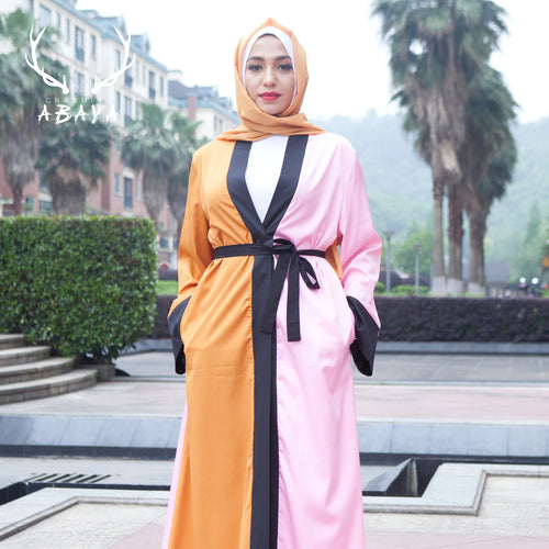 Soft Crepe Casual Cardgan Dress Abaya 2019 New Arrival High Quality Young Women