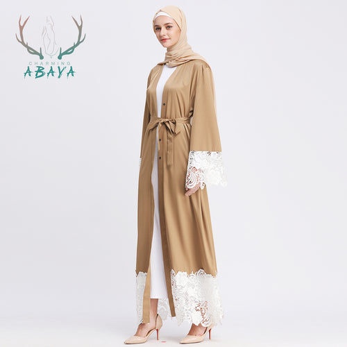 Muslim Cardigan Dubai Abaya Hot Selling Fashion Islamic Clothing Kimono Dress