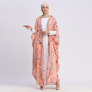 Chiffon Abaya Turkish Dubai 2019 New Arrival High Quality