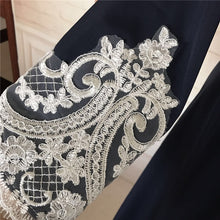 Load image into Gallery viewer, Modern Lace Coat Button Open Jubah Abaya Dress Elegant Women Islamic Turkish