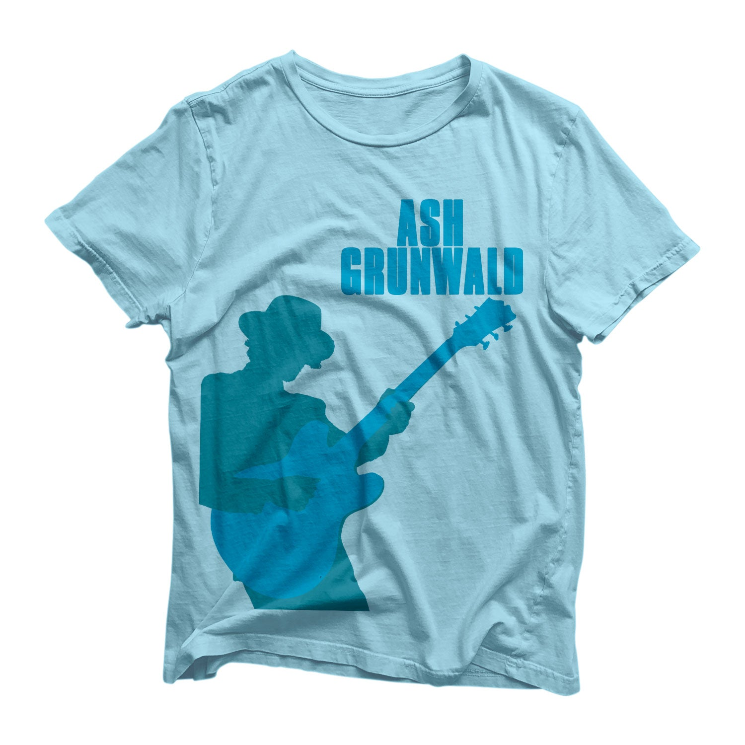 Ash Grunwald T-Shirt - kids sizes -  Baby Blue