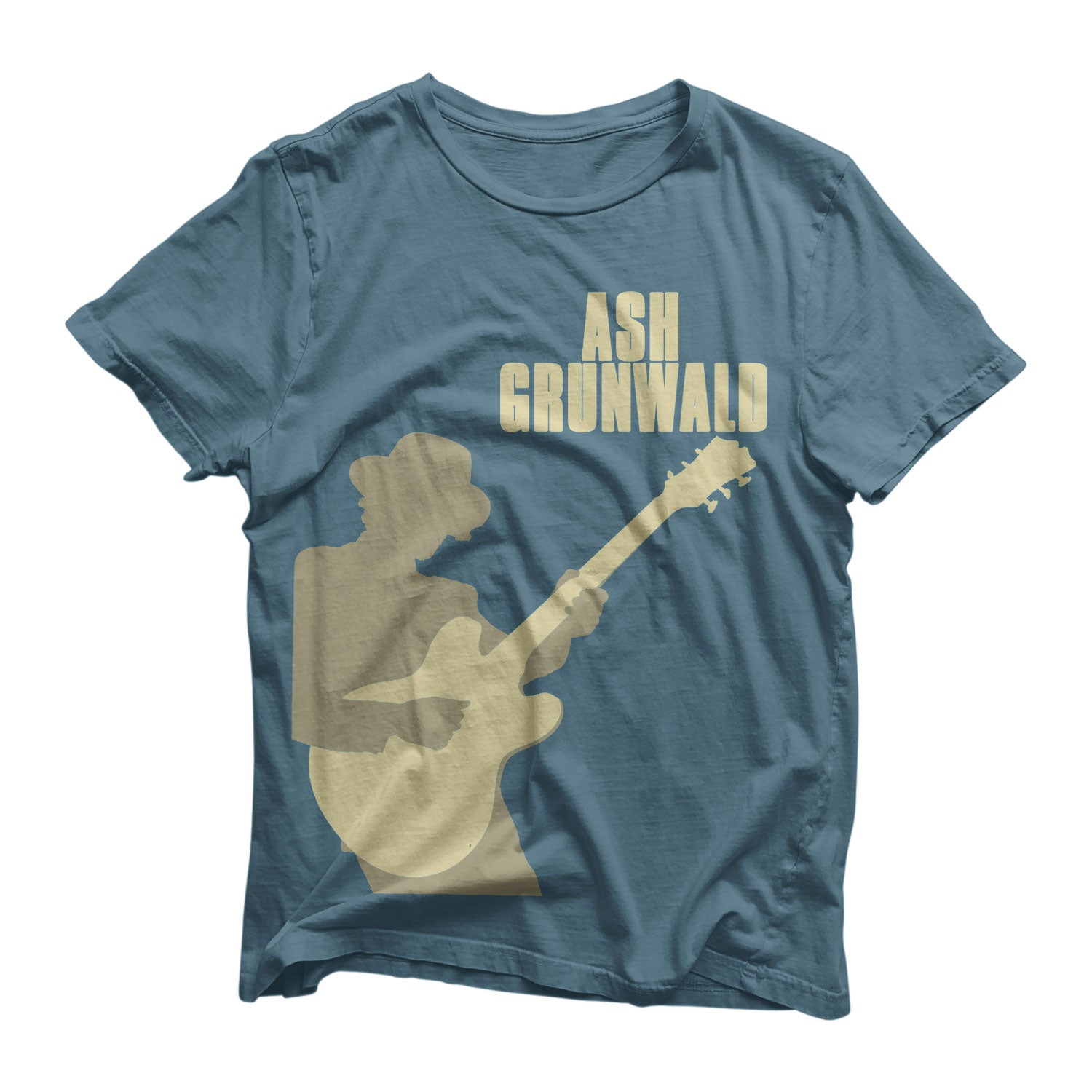 Ash Grunwald T-Shirt - Dark Blue