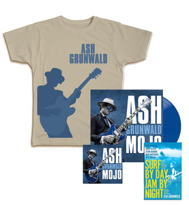 Mojo Vinyl, CD, Book, T-Shirt Bundle - GREY T-SHIRT ONLY