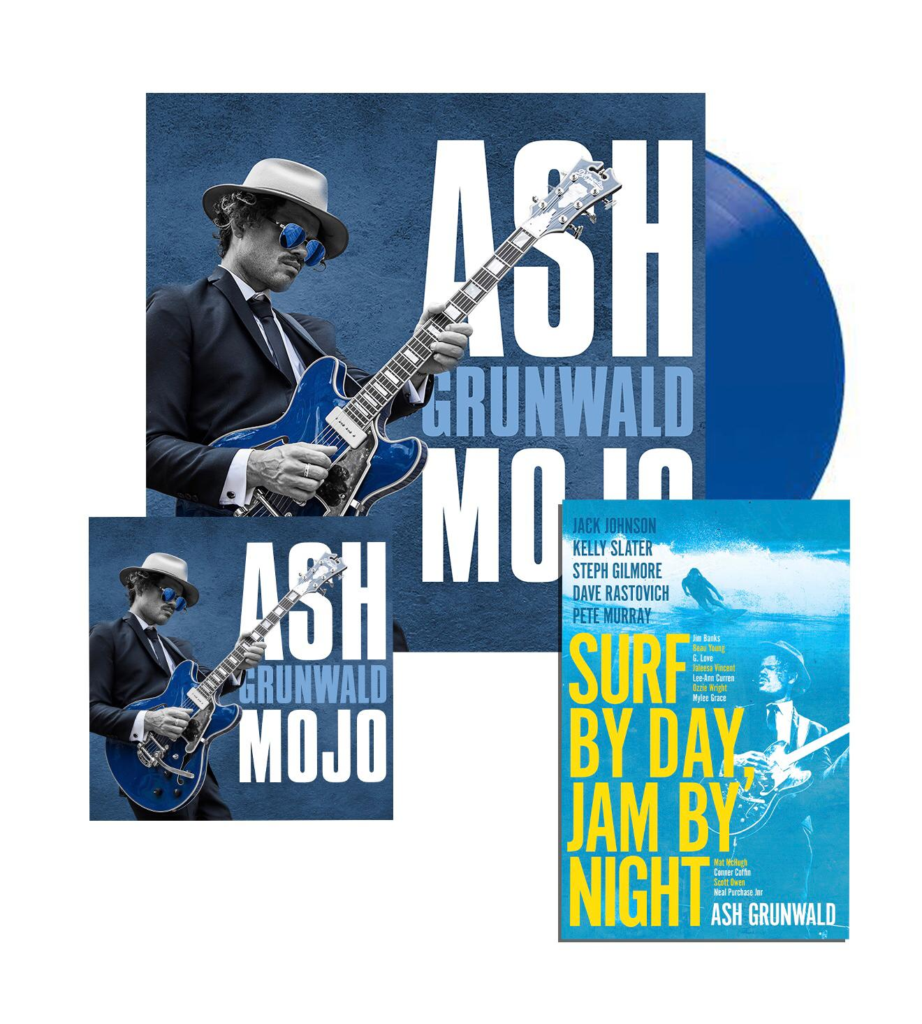 Mojo - Blue Vinyl + Book + CD
