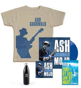 Mojo Vinyl, CD, Book, T-Shirt, Earth Bottle Ultimate Bundle