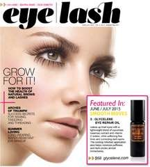 Eye Repair Oil feature in Eye Lash Magazine