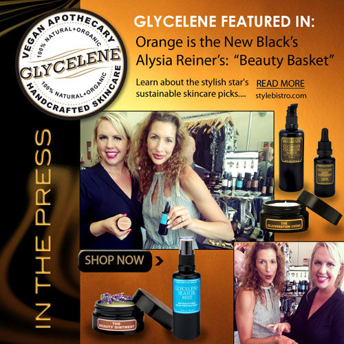 Glycelene Products Featured with Alysia Reiner