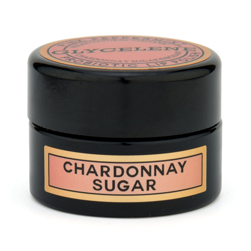CHARDONNAY SUGAR PROBIOTIC LIP POLISH - PINK PEPPERMINT