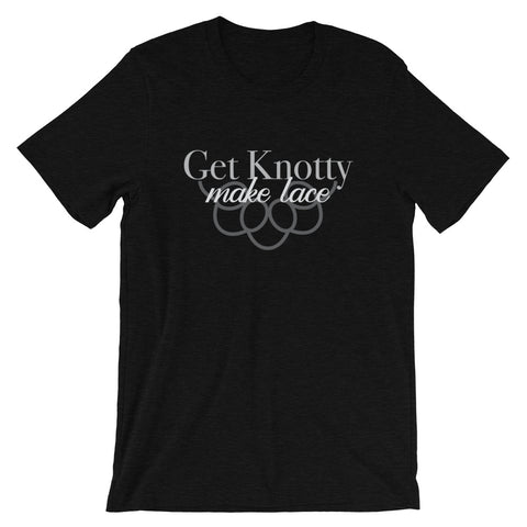 Get Knotty, Make Lace Tee