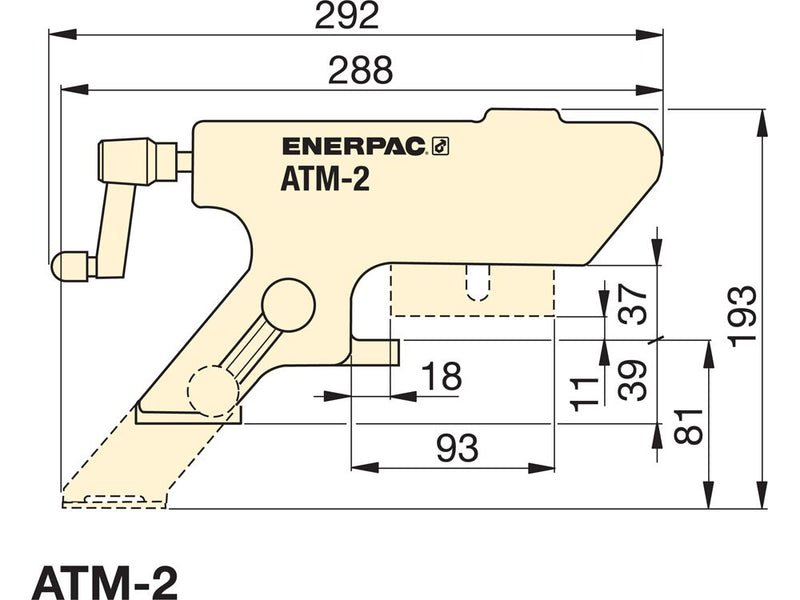 ENERPAC ATM-2 - MANUAL ALIGNMENT TOOL