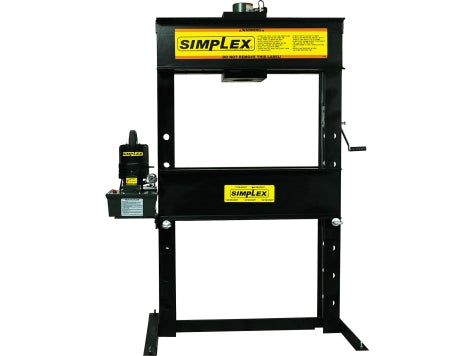 SIMPLEX IED5512 55 Ton H-Frame Press Elec. D/A