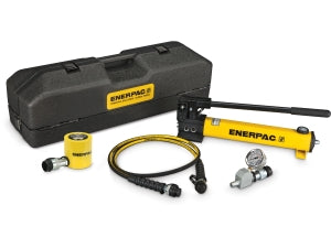 ENERPAC SCL-201TB - RCS201 CYLINDER, W/ P392 HAND PUMP AND CASE