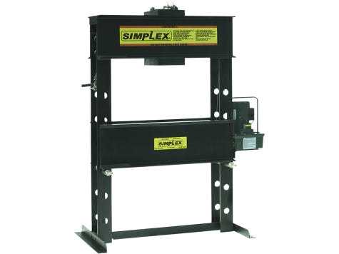 SIMPLEX IED1006 100 Ton H-Frame Press Elec. D/A