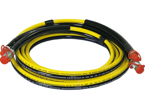 SIMPLEX WH-15 15' Twin Hose With Couplers