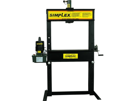 SIMPLEX IMS2514 25 Ton H-Frame Press Man. S/A