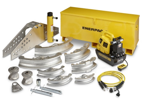 "ENERPAC STB-202E - 1-1/4"" TO 4"" ONE-SHOT PIPE BENDER"
