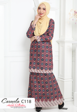 Load image into Gallery viewer, Baju Kurung Moden Carmela Batik C118