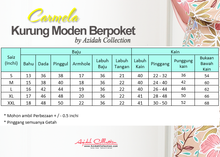 Load image into Gallery viewer, Baju Kurung Moden Carmela Batik C117