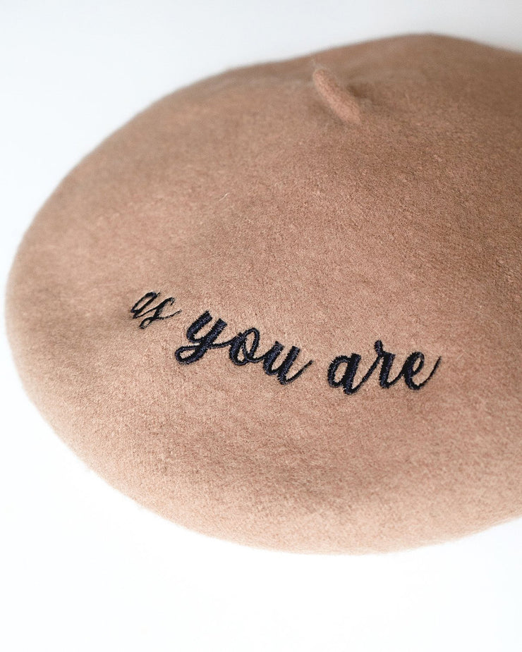 as you are: the beret