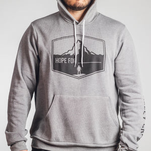 Hope For - Hoodie - Deep Heather
