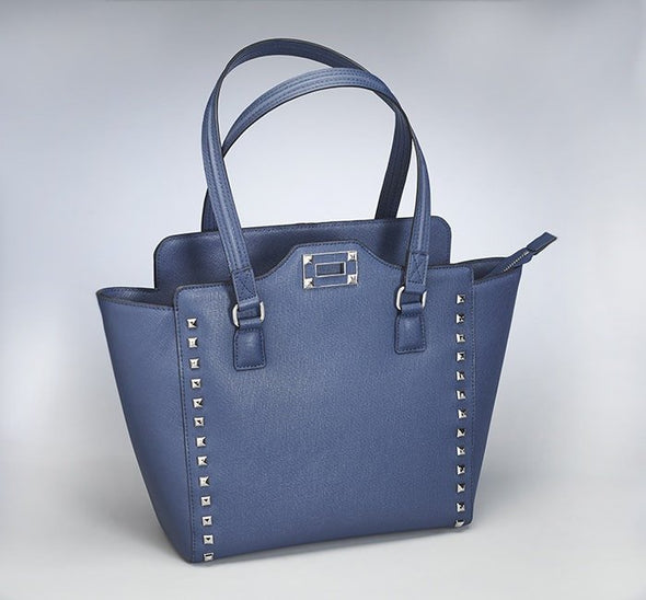 Gun Tote'n Mamas: GTM-77 Blue Studded Tote