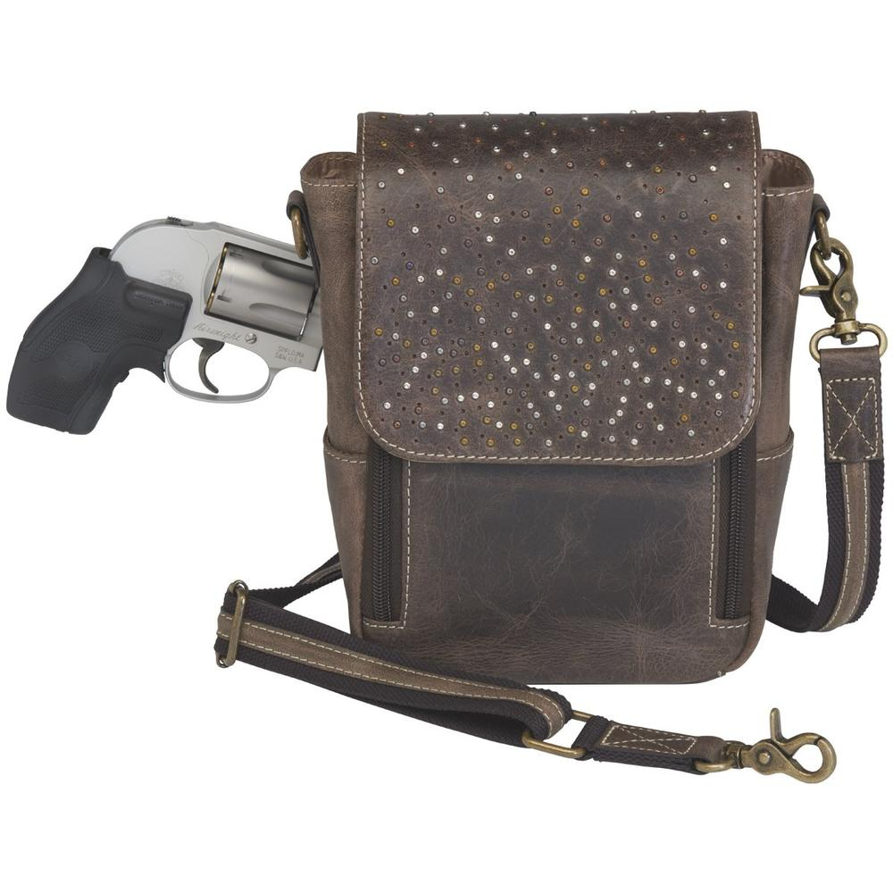 cf933616bc0 GTM/CZY-80 Distressed Leather Cross Body Satchel
