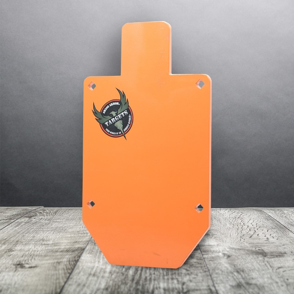 "Targets by AR500 Armor® 1/2"" Steel Target - 10"" x 18"" Silhouette"