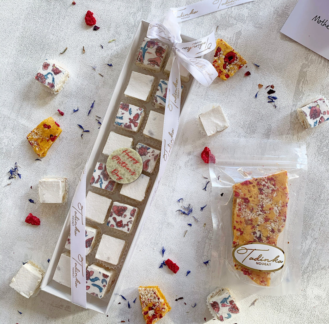 Mother's Day Nougat And Honeycomb Gift Set