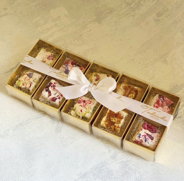 Festive Nougat Stocking Fillers